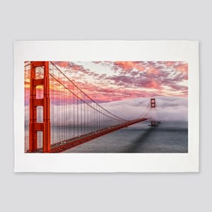 Golden Gate Bridge 5'x7'Area Rug